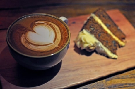 Our cake this week is Gluten Free Carrot Cake - Only a few more days to try!