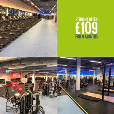 Student Membership Live at the new look Nottingham City Gym