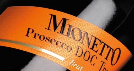 MIONETTO PROSECCO, ITALY - Bottle Just £14.95!