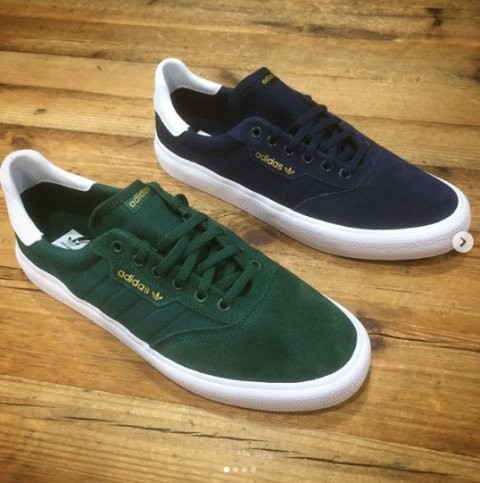 Adidas skateboarding 3MC in green and navy arrived today!