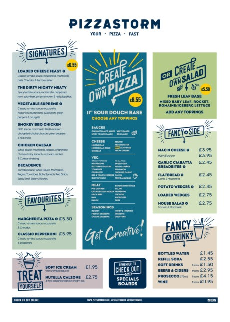 We have Sides from just £2.45 including Mac 'n' Cheese, Loaded Wedges and more!