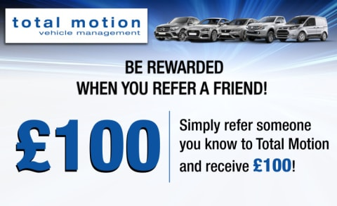 Total Motion Referral Scheme | Be rewarded £100!