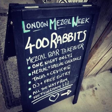 Nottingham representing at #LondonMezcalWeek