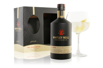 CHRISTMAS GIFT PACK - Whitley Neill - Gin Copa Glass Gift, £28.75!