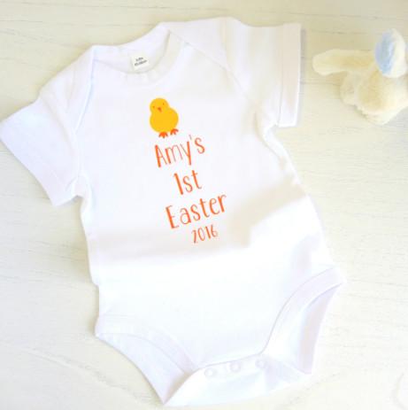 BABYS 1ST EASTER VEST £11.99!