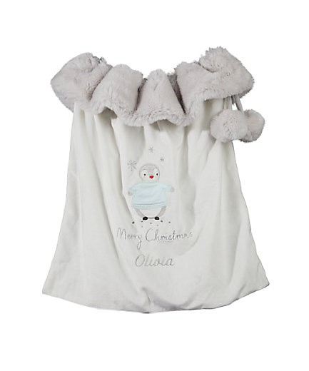 MY FIRST CHRISTMAS RANGE - personalised my first christmas sack £24.00!
