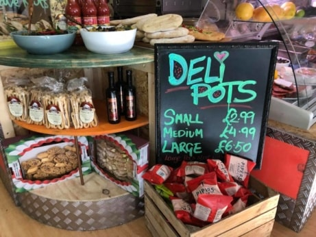 Buy one of our Deli Pots for lunch today from just £2.99!