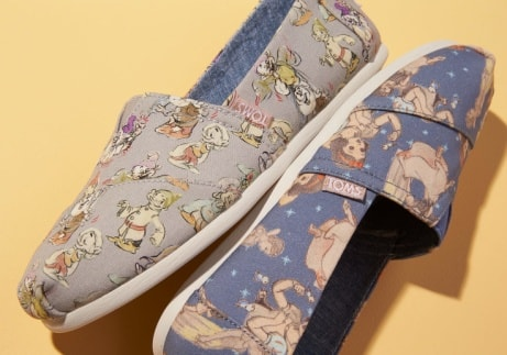 Check out the third capsule of the Disney X TOMS Collection...