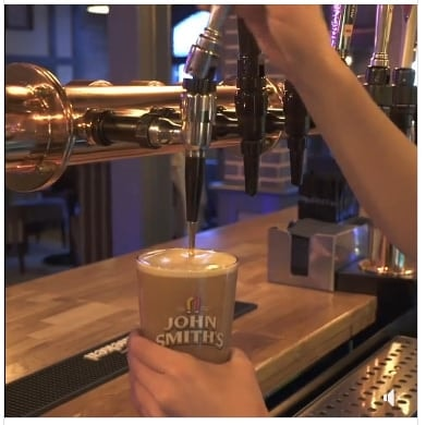Did you know that with our Afternoon Bonanza Deal, you can get a Pint of John Smiths for £2.00!