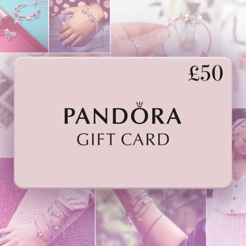 WIN a £50.00 Pandora Gift Card!