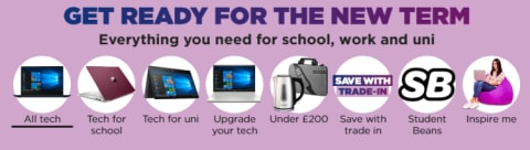 Back to School - Up to 30% off Top Tech for Students