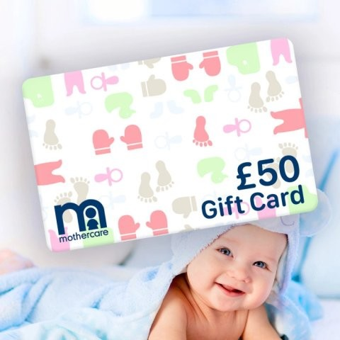 WIN a £50.00 Mothercare Gift Card!