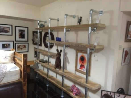 Get this great industrial look - The Ferrous Shelving Unit £2,760.00!