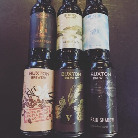 Fresh bottles and cans in from Buxton Brewery