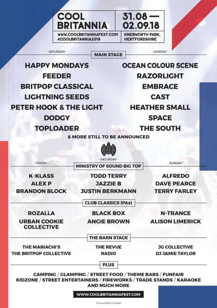 Cool Britannia Festival