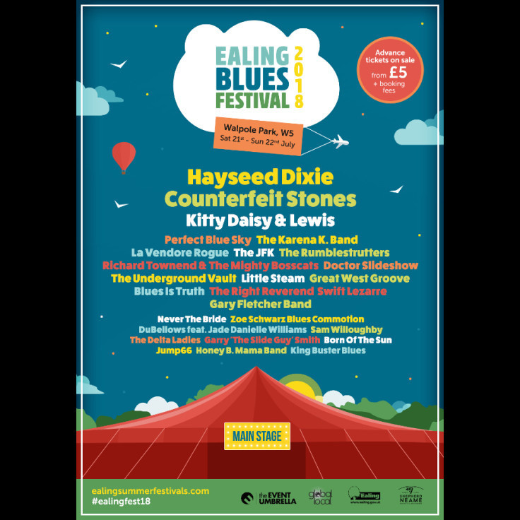 Ealing Blues Festival 2018