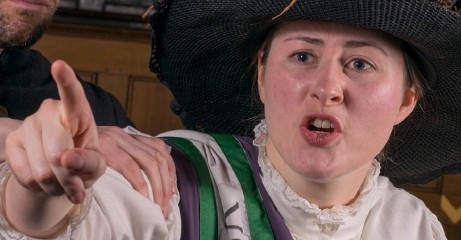 The trial of suffragette, Eileen Casey recreated in our Theatre of Law