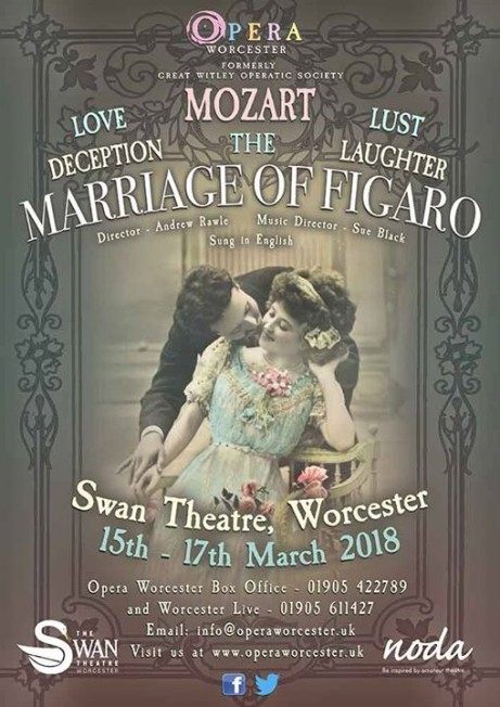 Opera Worcester presents The Marriage of Figaro