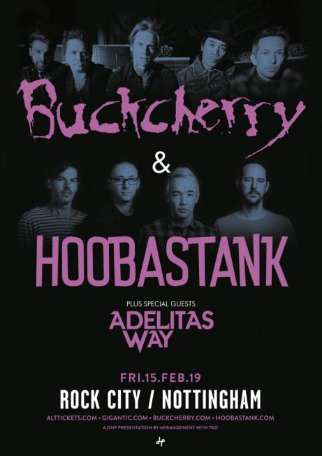 BUCKCHERRY & HOOBASTANK (co-headline)