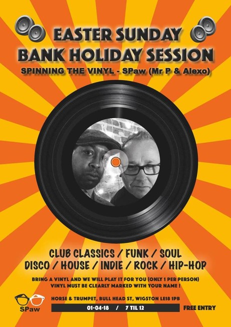 Easter Sunday - Bring A Vinyl!