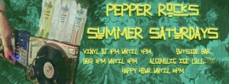 Summer Saturdays at Pepper Rocks