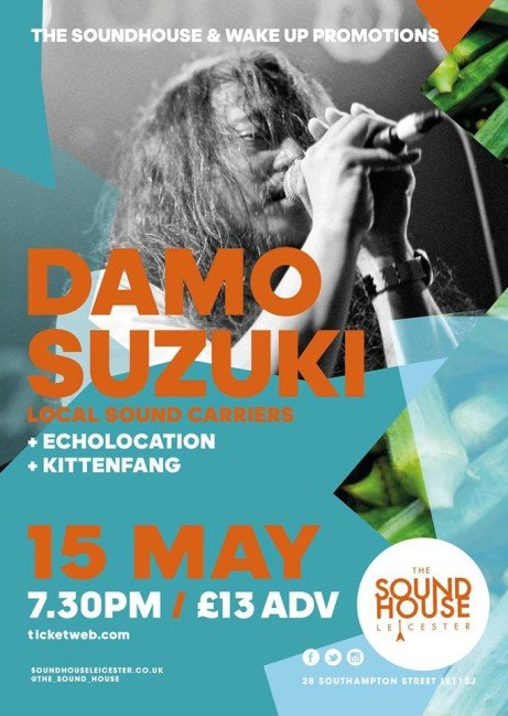 Damo Suzuki (CAN) - The Return!