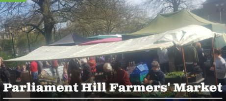 Parliament Hill Farmers' Market.  Every Saturday 10am-2pm