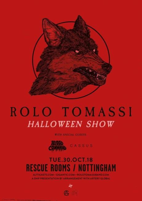 Rolo Tomassi Halloween Show
