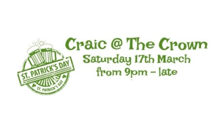Craic at The Crown - St Patrick's Day Party