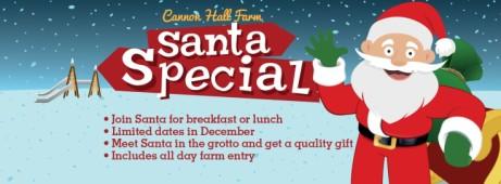 Santa Specials - Breakfast or Lunch with Santa!