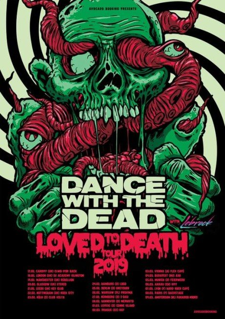 DANCE WITH THE DEAD (Beta show)