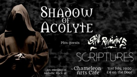 Shadow of Acolyte + Guests at Chameleon Arts Cafe, Nottingham