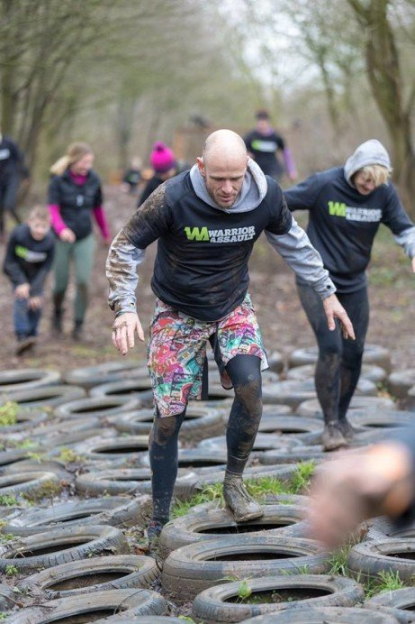 Warrior Assault obstacle course at Holme Pierrepont Country Park