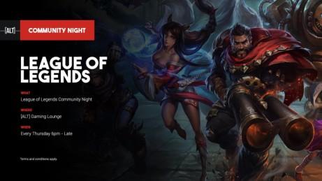 League Of Legends Community Night