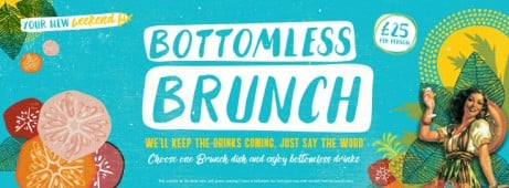 De Cuba Does Brunch-Bottomless!