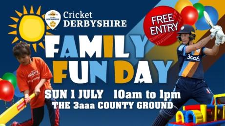 Cricket Derbyshire FREE Family Fun Day