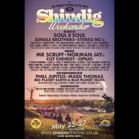 Shindig Weekender 2018