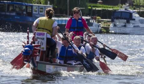 Nottingham Riverside Festival Dragon Boat Challenge 2018