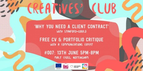 Creatives' Club : #007 - 'Why you need a client contract'