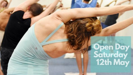 Open Day, Saturday 12th May 2018 - free yoga all day!