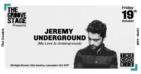 The Groove Stage Presents: Jeremy Underground