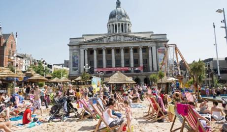 The Nottingham Beach 2018
