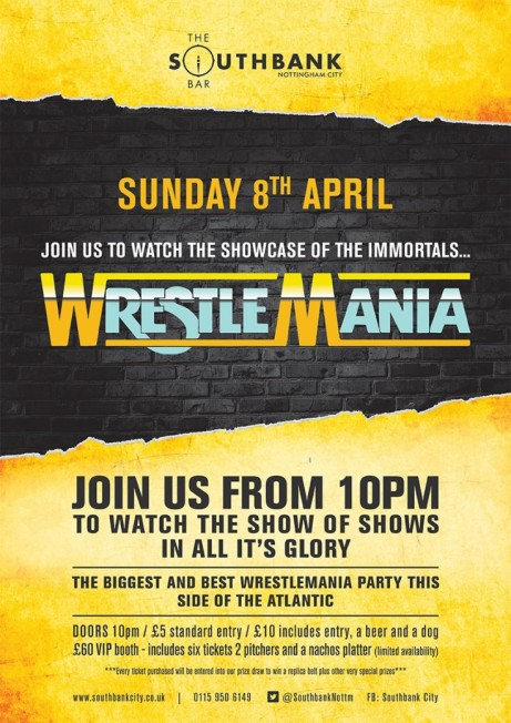 Wrestlemania Party 2018!