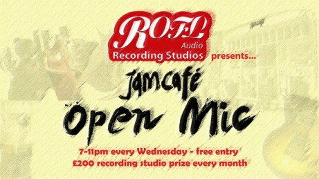 Rofl Audio Recording Studios presents - Open Mic