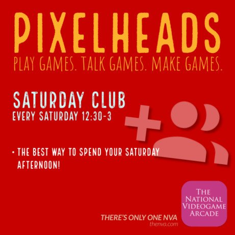PIXELHEADS : SATURDAY CLUB