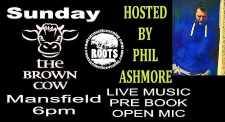 Brown Cow - Mansfield - Roots Live Music