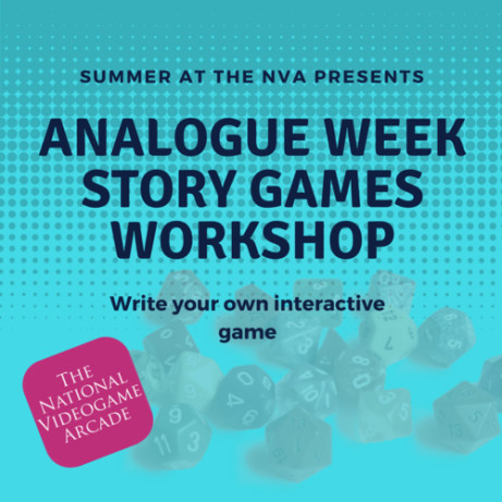 SUMMER AT THE NVA: STORY GAMES FULL DAY WORKSHOP