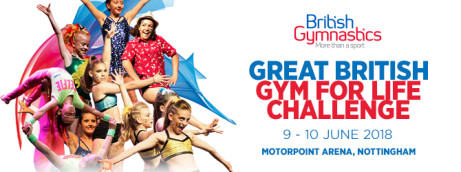 THE GREAT BRITISH GYM FOR LIFE CHALLENGE