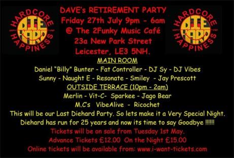Dave's Last Hurrah