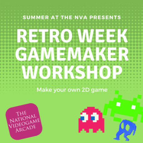 SUMMER AT THE NVA: GAMEMAKER FULL DAY WORKSHOP